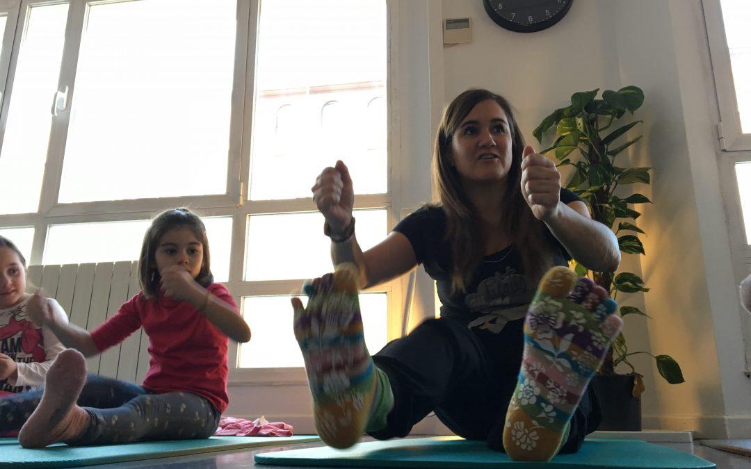 Finalizan las sesiones en familia de Pilates y Mindfulness en Maternaly